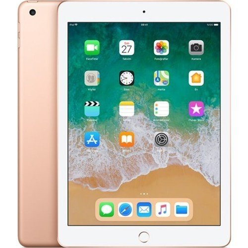 "Apple iPad 6.Nesil 32GB 9.7"" Wi-Fi IPS Tablet Gold MRJN2TU/A"